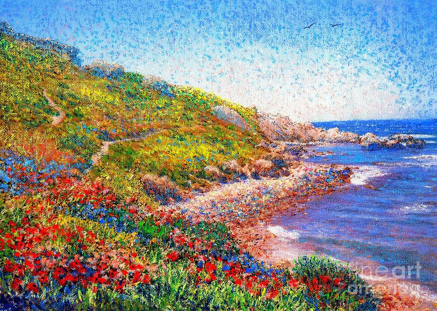 Enchanted By Poppies Painting