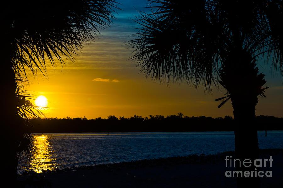Port Charlotte Beach Sunset In January Photograph