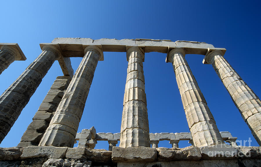 Poseidon Temple Photograph