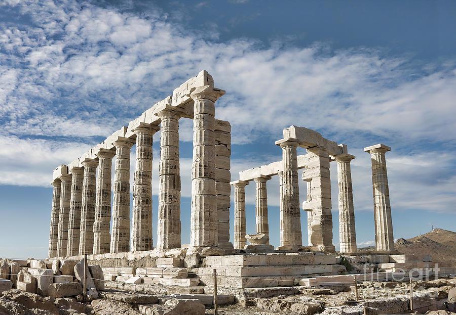 Poseidons Temple Photograph