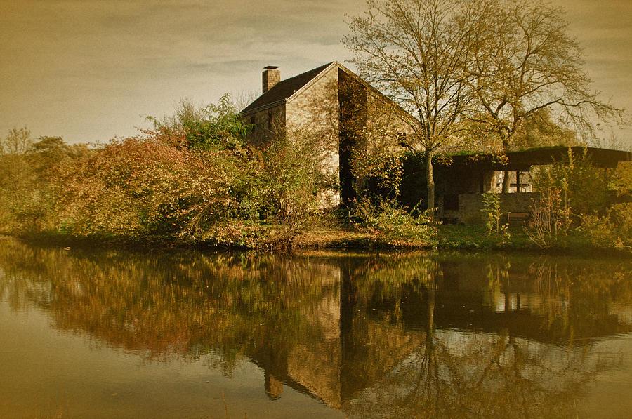 Autumn Landscape Photograph - Postcard From Autumn by Richard Cummings