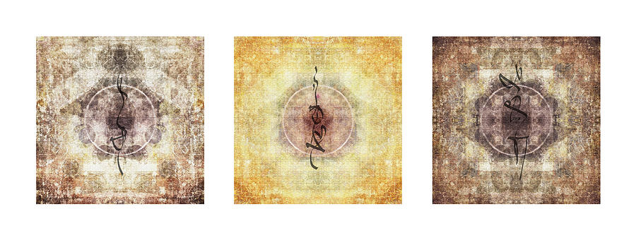 Prayer Flag Triptych Photograph