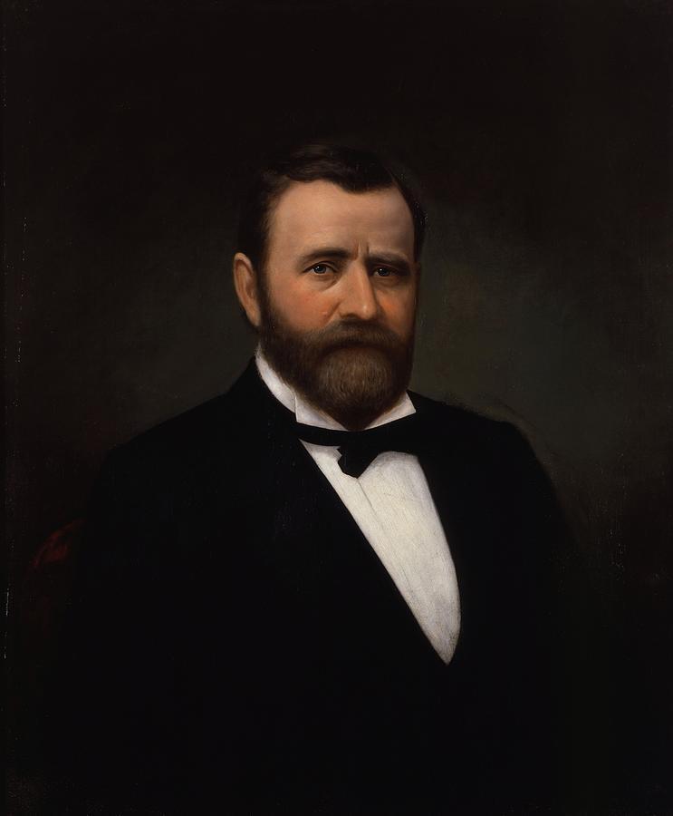 President Ulysses Grant Painting