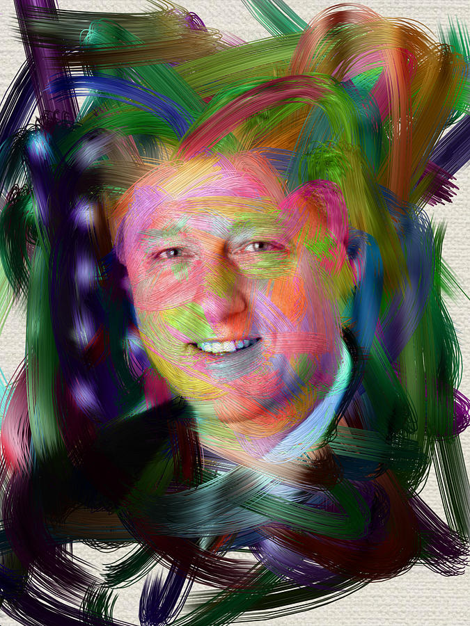President William J. Clinton Digital Art