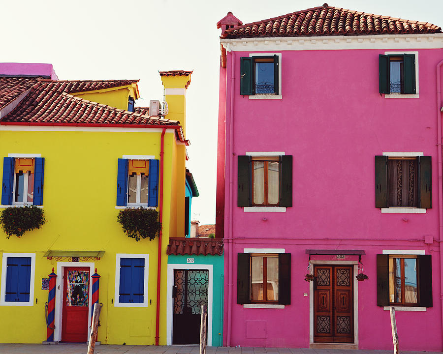 Pretty Little Houses Of Italy Photograph By Kim Fearheiley