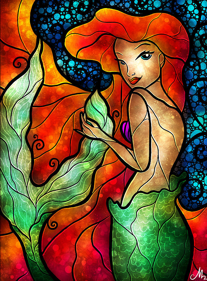 Princess Of The Seas Digital Art
