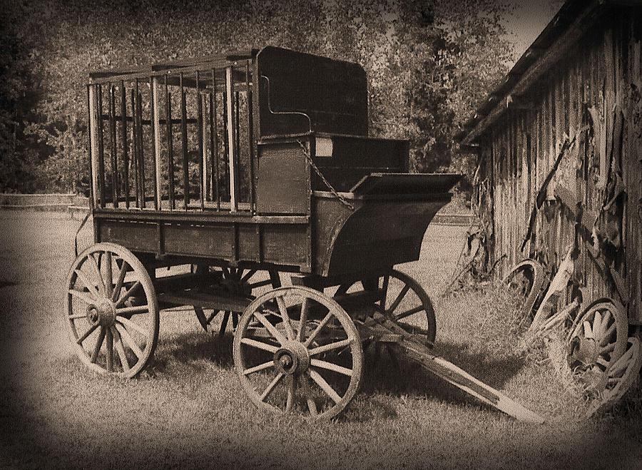 Prison Wagon Photograph