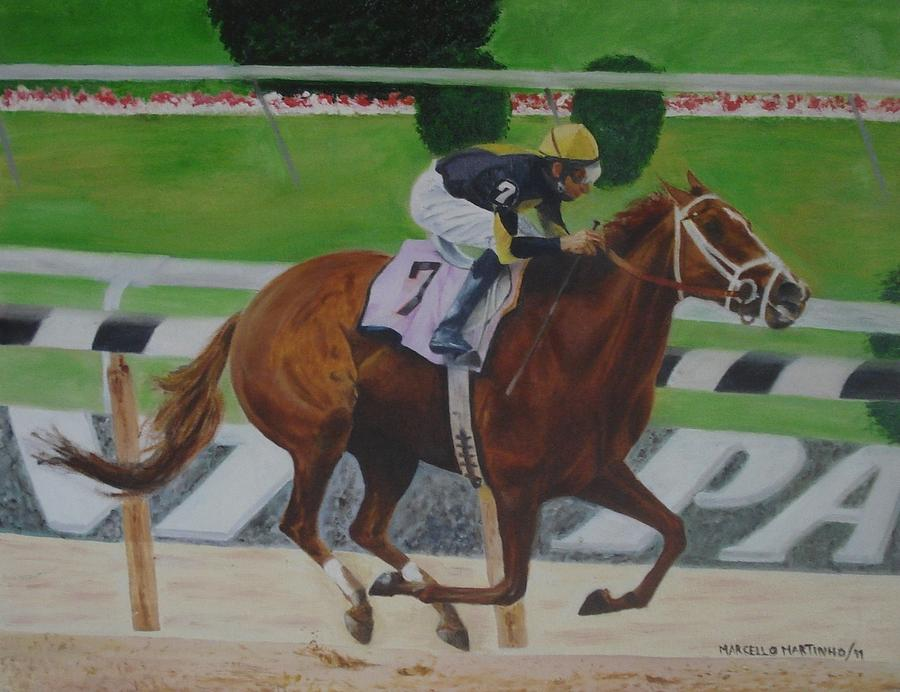Racehorse Painting
