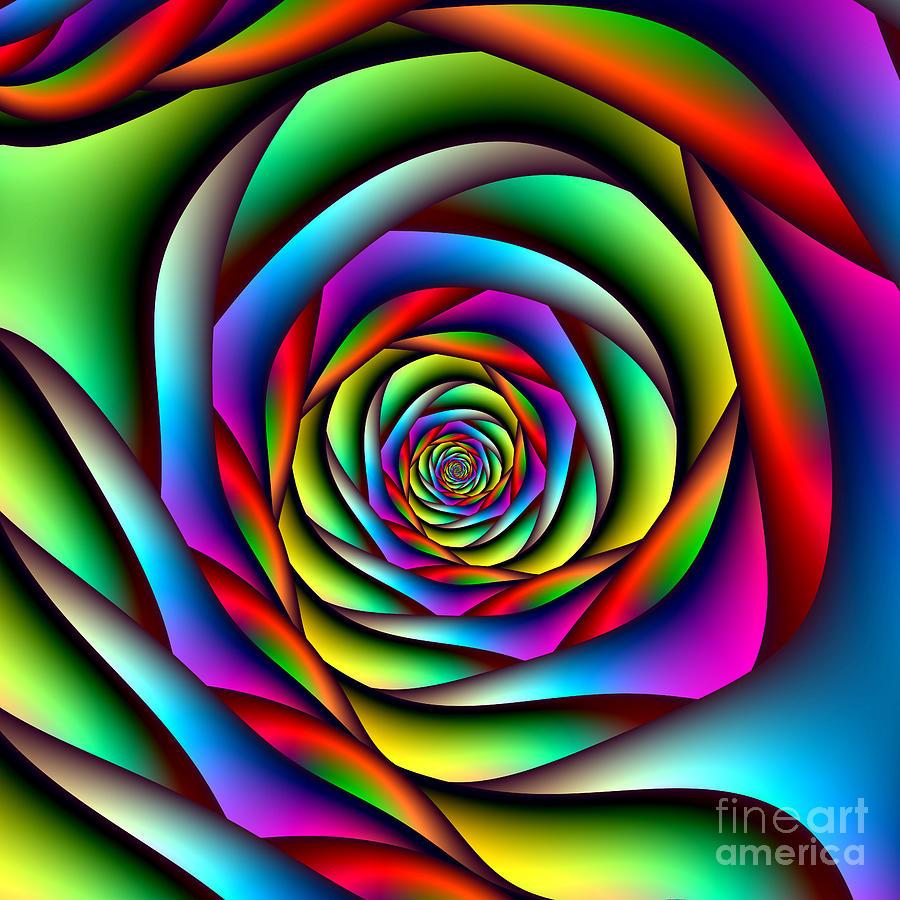spiral rainbow - photo #43