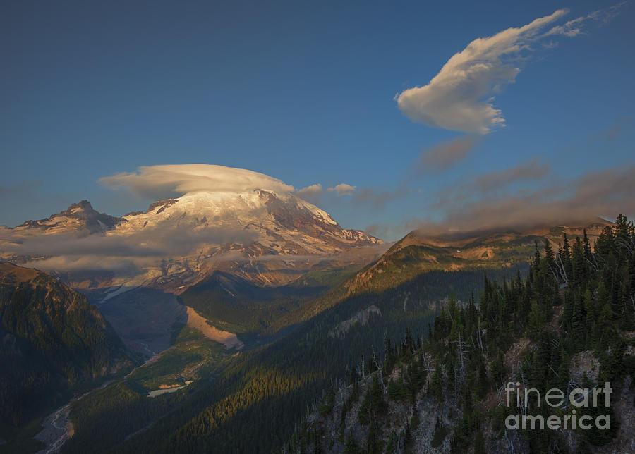 Rainier Capped Photograph