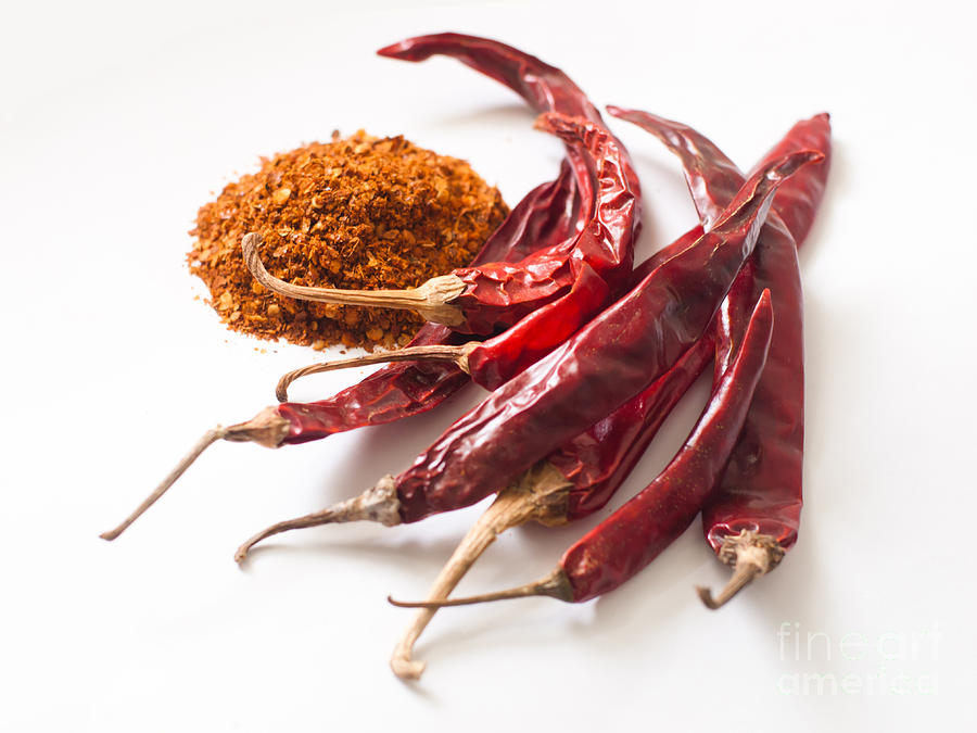 Red Dried Chilli Photograph