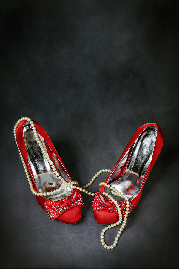 Red Shoes Photograph  - Red Shoes Fine Art Print