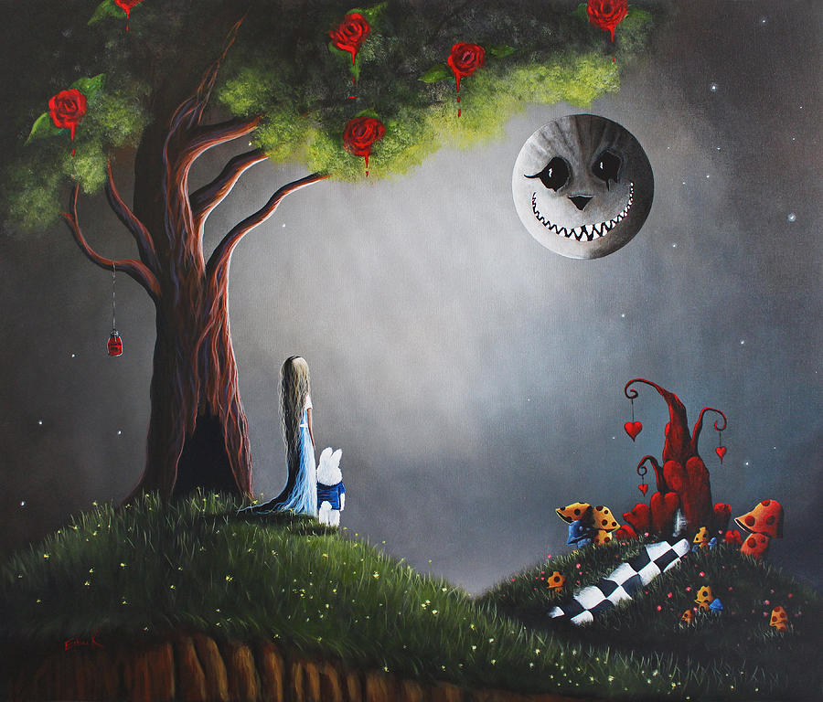 Return To Wonderland By Shawna Erback Painting  - Return To Wonderland By Shawna Erback Fine Art Print
