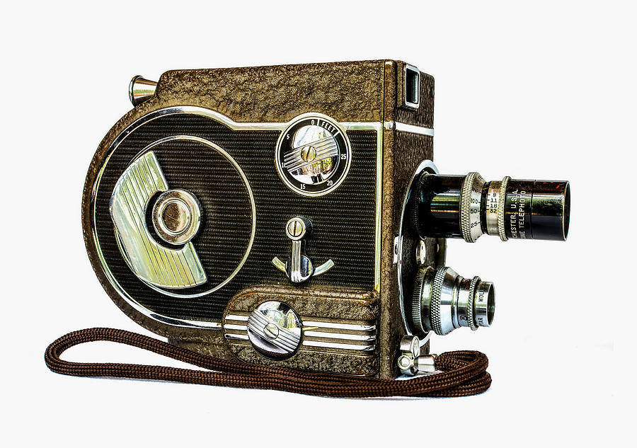 Revere 8 Movie Camera Photograph