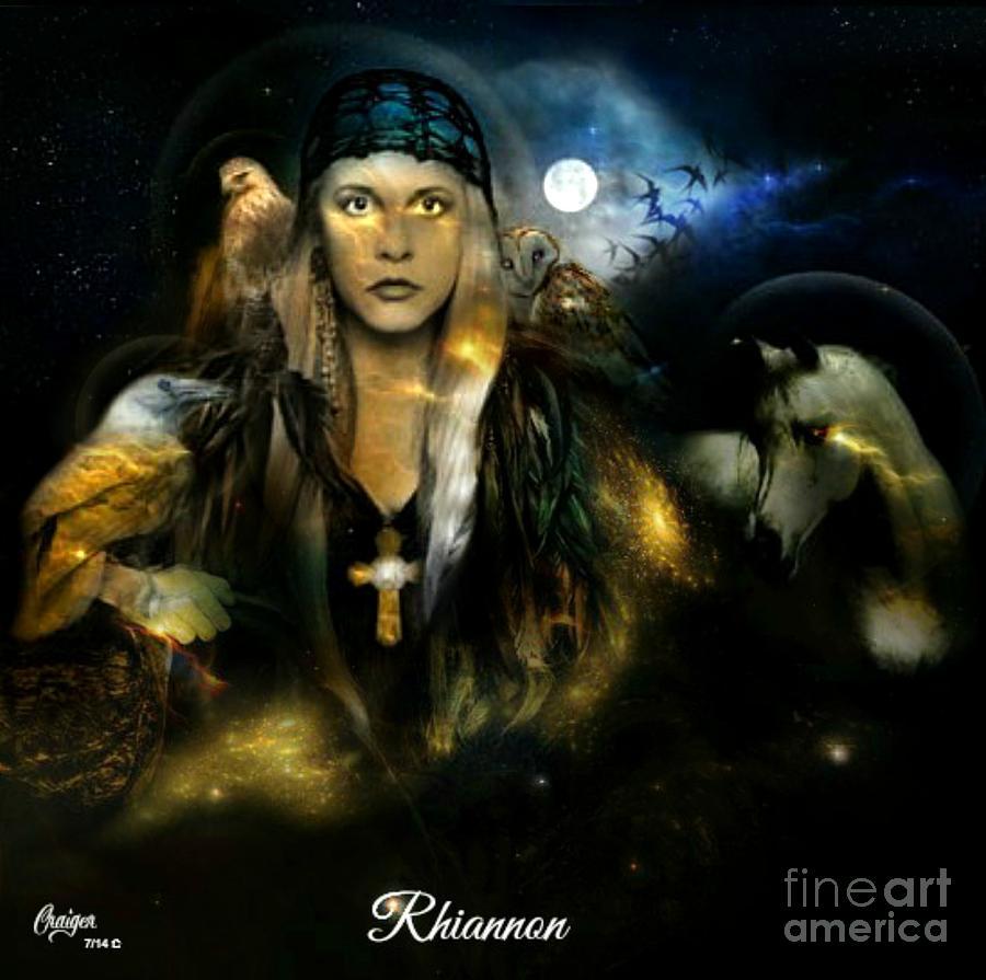 Rhiannon Digital Art