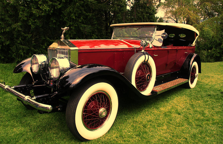 Rolls Royce Phantom I 1929 Photograph  - Rolls Royce Phantom I 1929 Fine Art Print