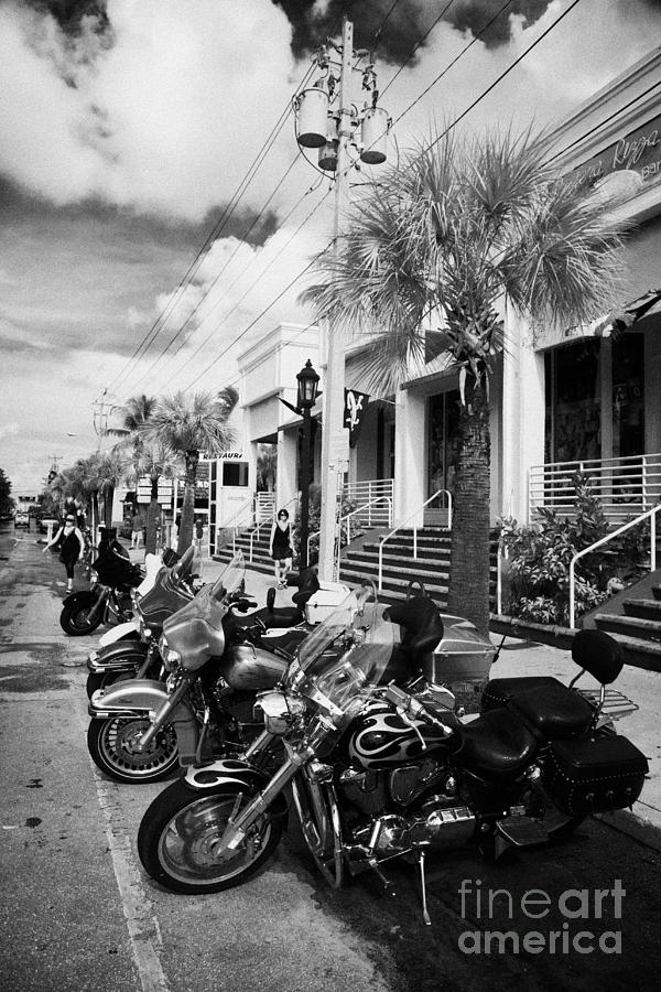 Bikes For Sale Key West Bike Week Photographs Row Of
