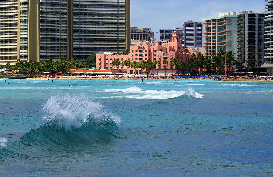 Royal Hawaiian Hotel Photograph