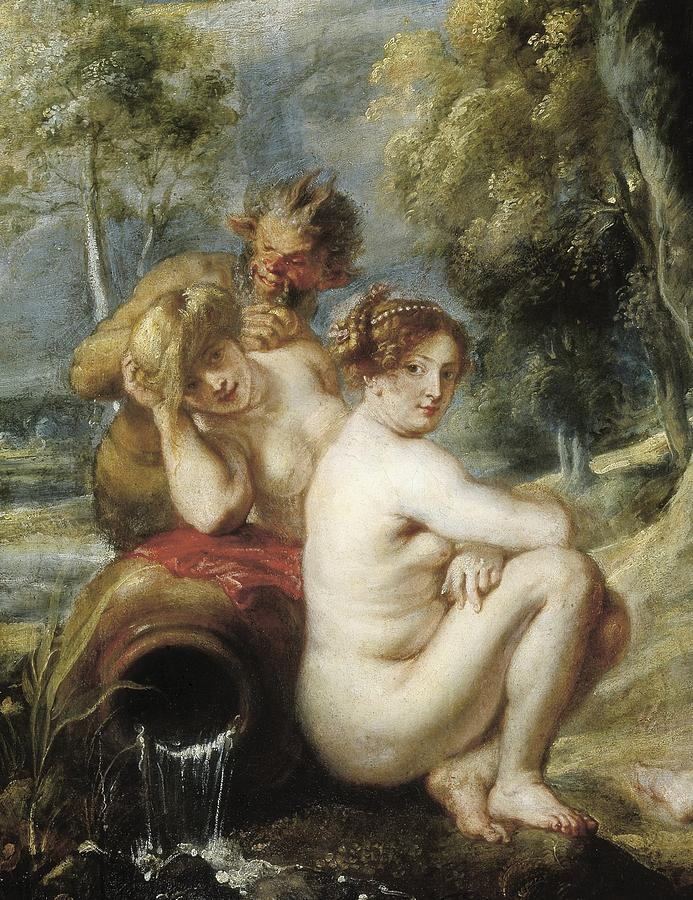 Rubens, Peter Paul 1577-1640. Nymphs Photograph