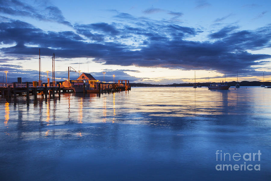 Russell Bay Of Islands New Zealand Photograph