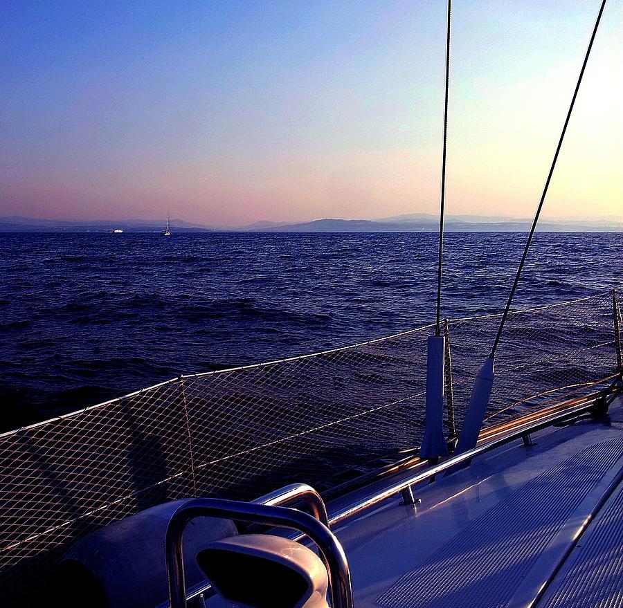 Sailboat Pyrography