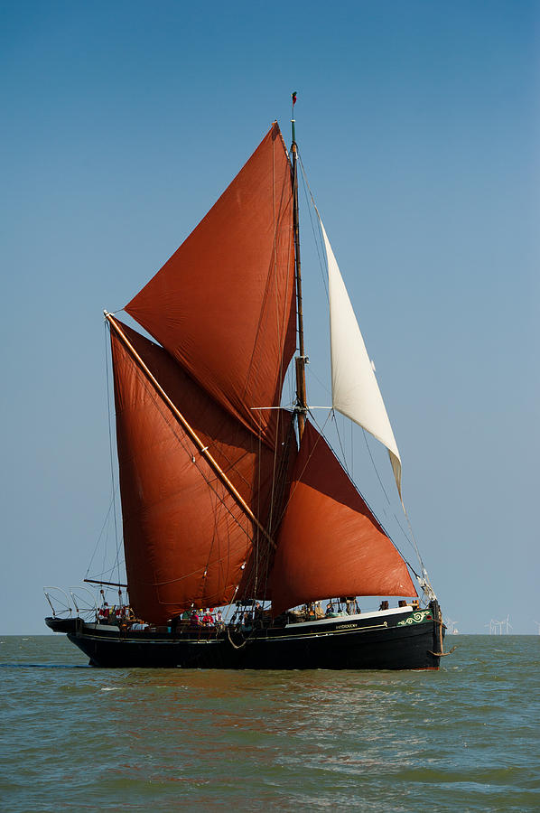 Sailing Barge Photograph  - Sailing Barge Fine Art Print