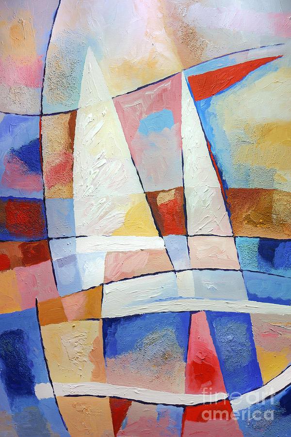 Sailing Joy Painting