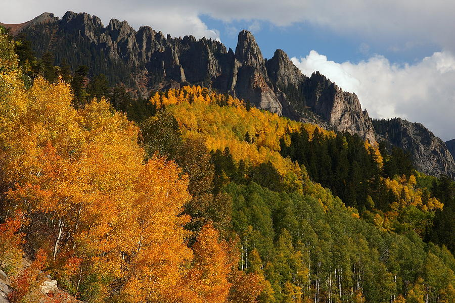 San Juan Mountains In Autumn Photograph  - San Juan Mountains In Autumn Fine Art Print