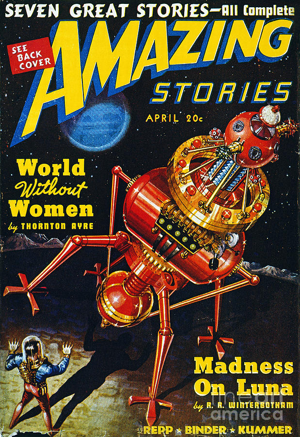 Science Fiction Cover 1939 Painting