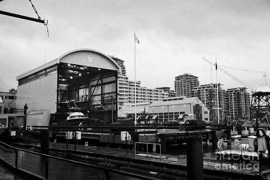seaspan marine tugboat dock city of north Vancouver BC Canada Photograph