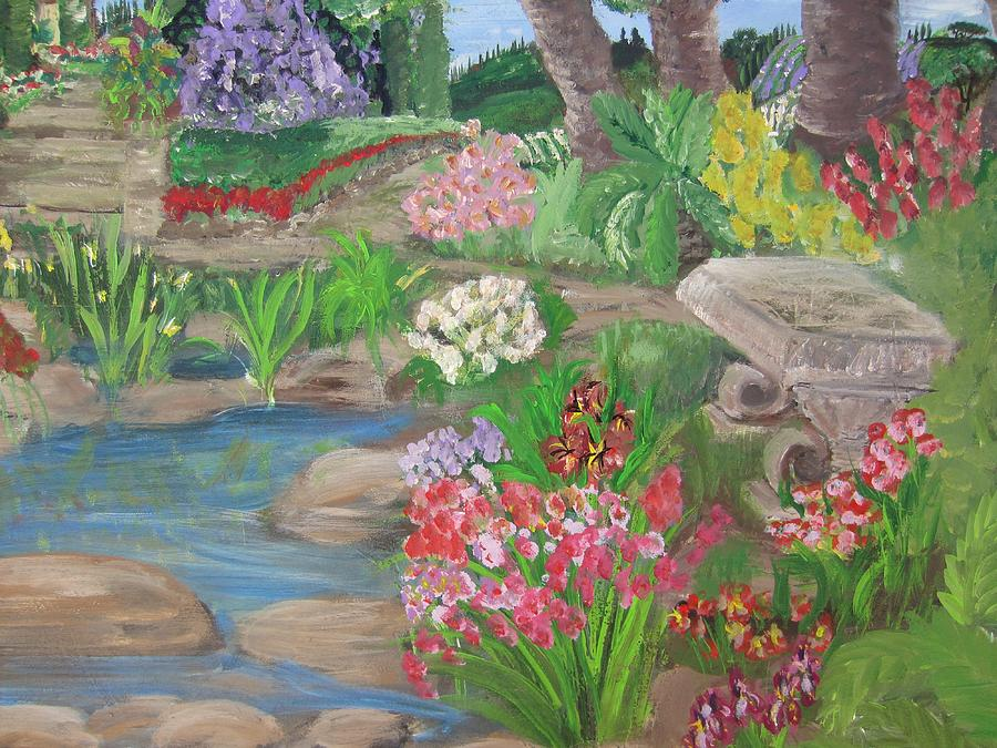 Secret Garden Painting  - Secret Garden Fine Art Print