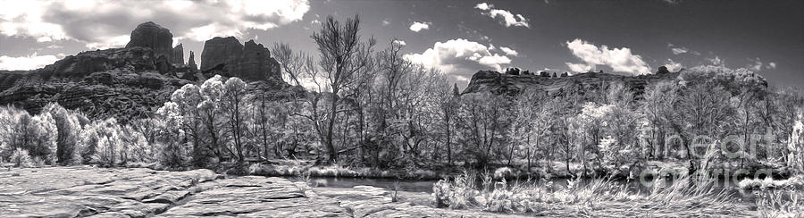 Sedona Arizona Cathedral Rock Panorama Photograph