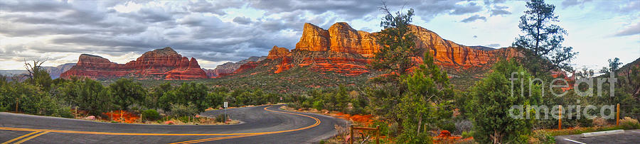 Sedona Arizona Panorama Photograph  - Sedona Arizona Panorama Fine Art Print
