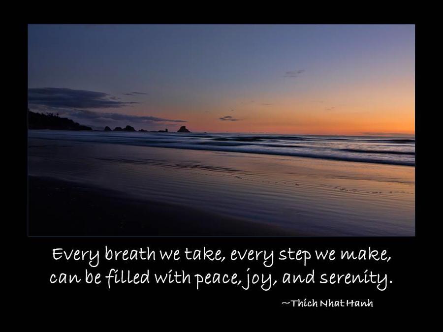 Inspirational Photograph - Serenity by Don Schwartz