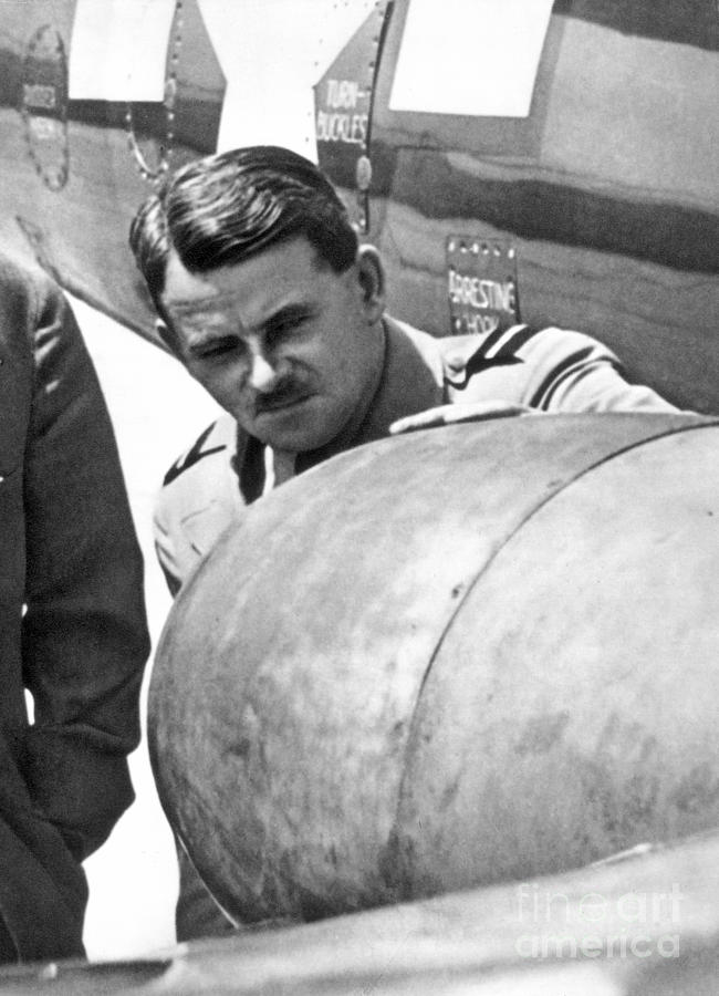 Sir Frank Whittle Photograph  - Sir Frank Whittle Fine Art Print