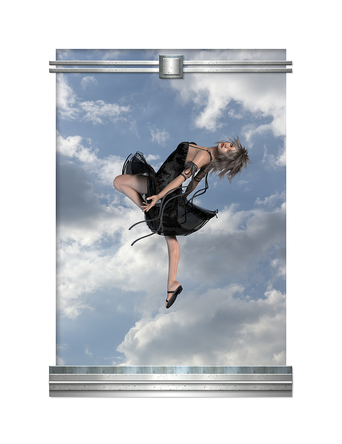 Sky Girl Photograph