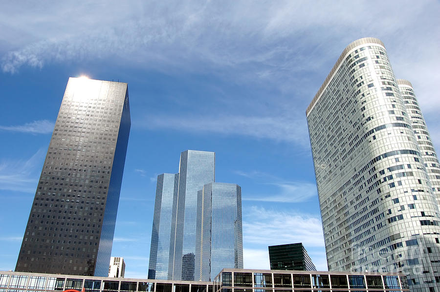 Skyscrapers Photograph