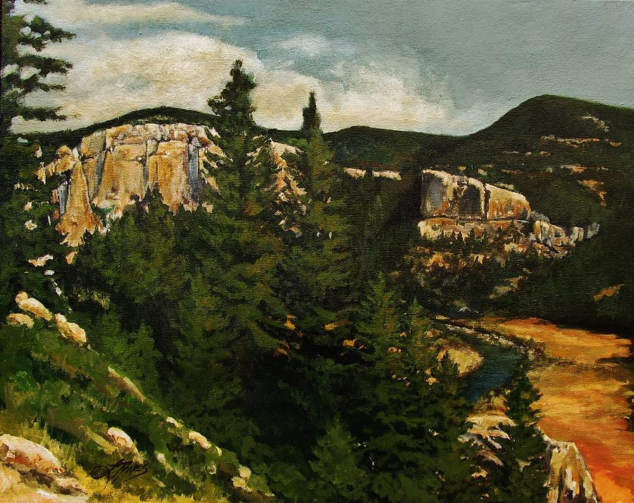 Smith River Painting