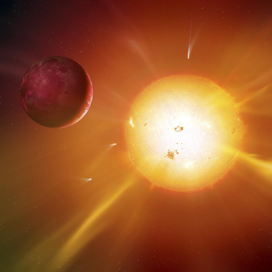 Solar System Formation, Artwork Photograph