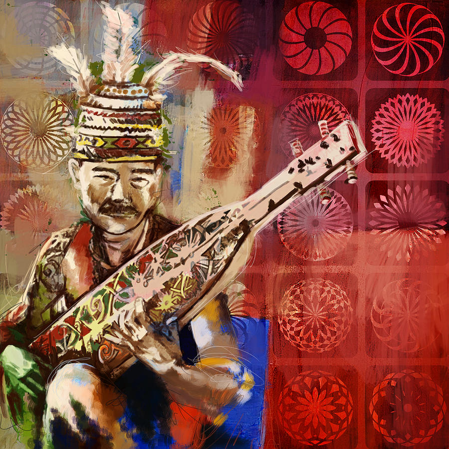 South Asian Art Painting  - South Asian Art Fine Art Print