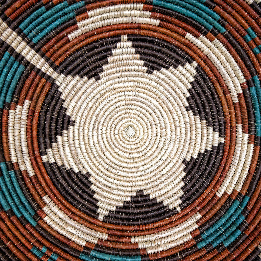 Southwestern Basket Detail Photograph