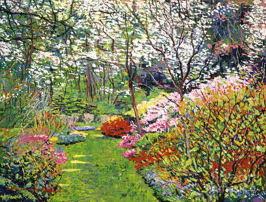 Spring Forest Vision Painting