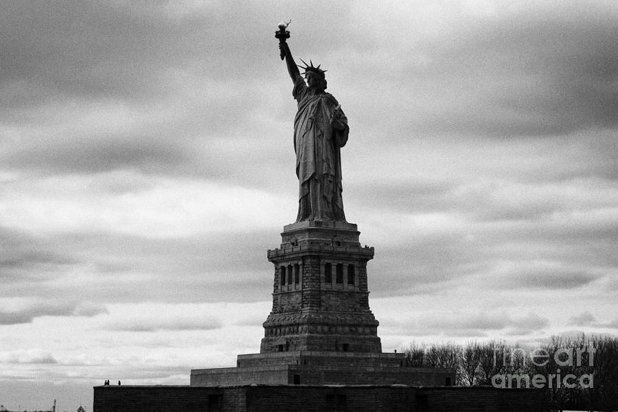 Usa Photograph - Statue Of Liberty National Monument Liberty Island New York City by Joe Fox