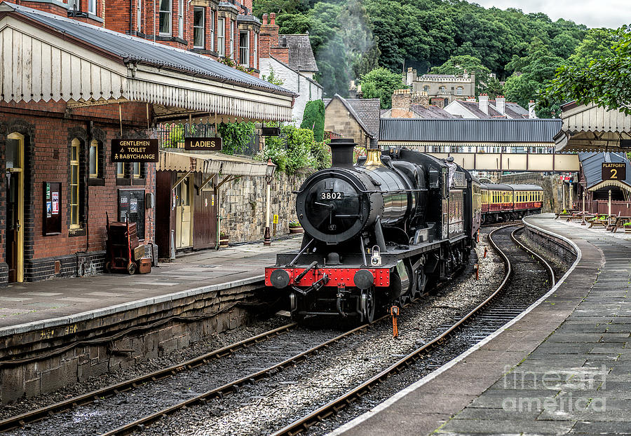 Steam Locomotive Photograph - Steam Train by Adrian Evans