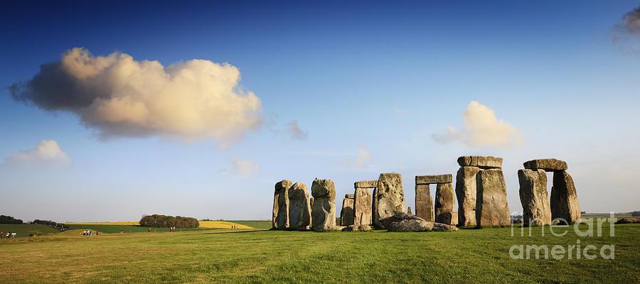 Stonehenge Summer Evening Photograph