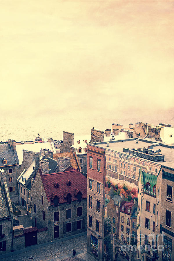 Streets Of Old Quebec City Photograph