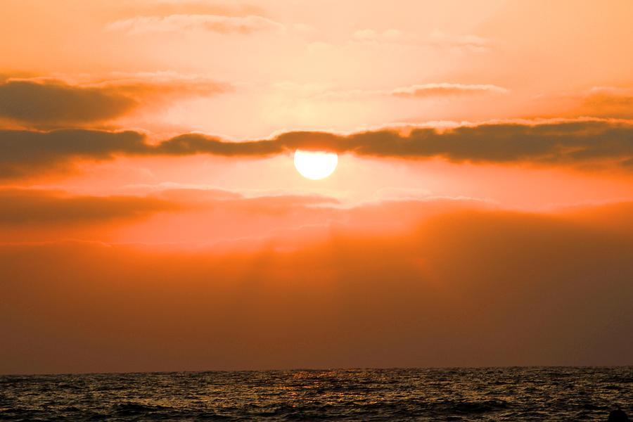Sunset Pyrography