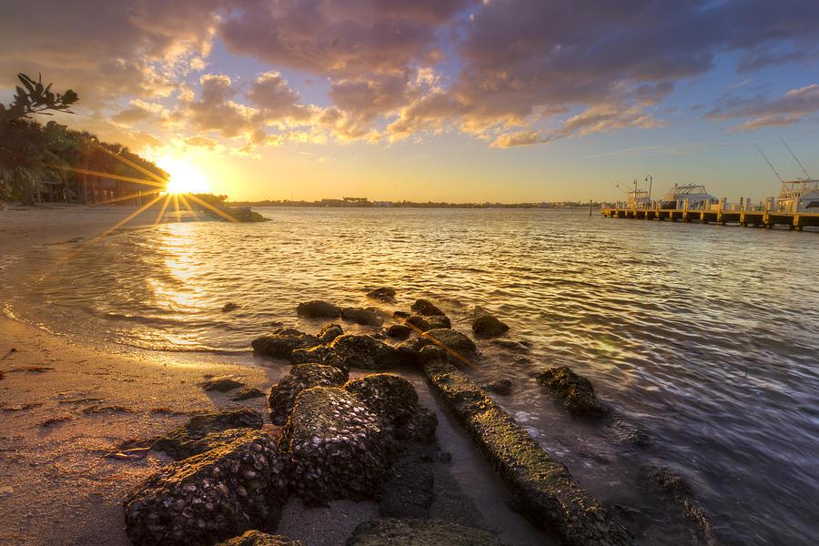 Sunset Light Photograph