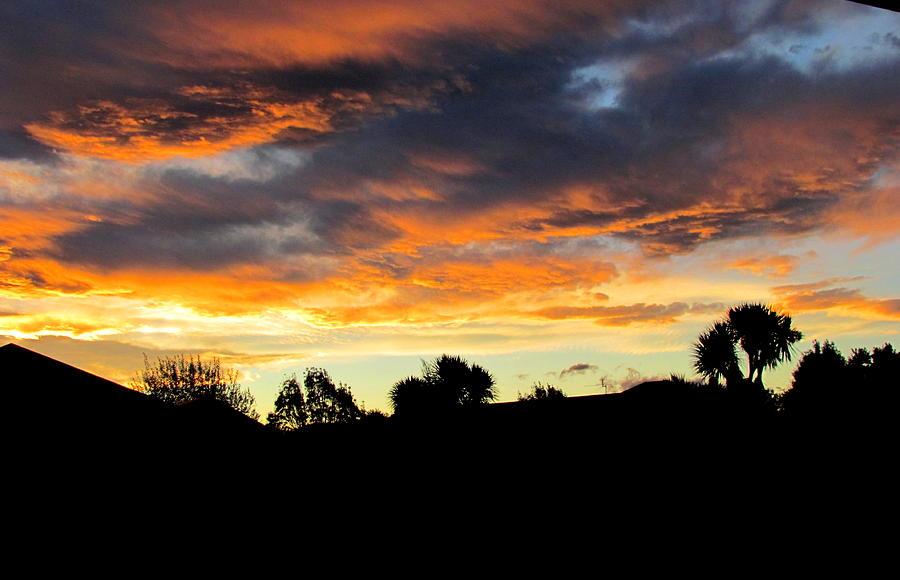 Sunset New Zealand  Photograph