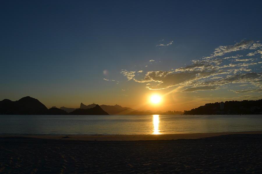 Sunset - Niteroi - Rj - Brasil Photograph